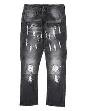 Bottoms - Rip & Repair Stretch Jeans (8-18)-2565173