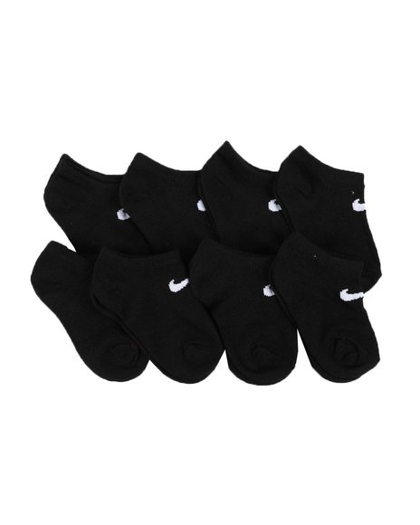 Nike - 8 Pack No Show Socks (7C-10C)