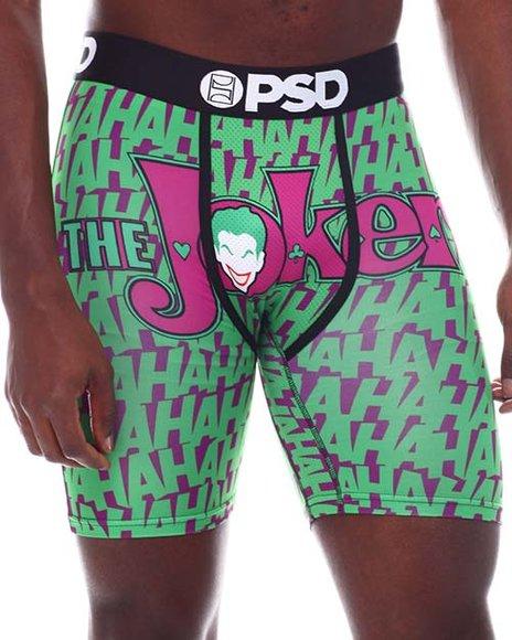 PSD UNDERWEAR - DC Joker Haha Boxer Brief