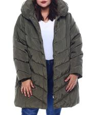 Plus Size - Plus Long Puffer-2565032