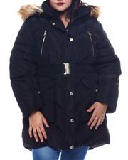 Plus Size - Plus Long Puffer-2565040