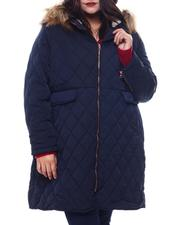 Plus Size - Plus Long Puffer-2565052