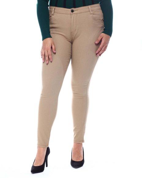 Fashion Lab - Plus Twill Pants