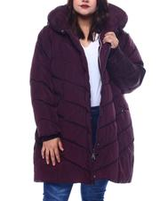 Plus Size - Plus Long Puffer-2565025