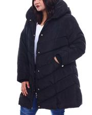 Plus Size - Plus Long Puffer-2565036