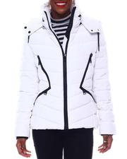 Fall-Winter - Double Zipper Short Puffer-2564830