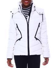 Outerwear - Double Zipper Short Puffer-2564830