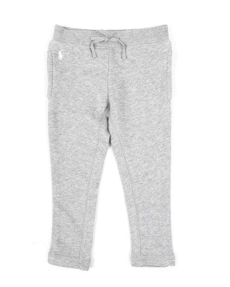 Polo Ralph Lauren - Drapey Terry Fleece Leggings (2-4T)