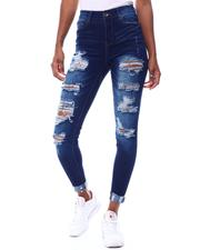 Jeans - High Rise 5 Pocket Jeans-2566367