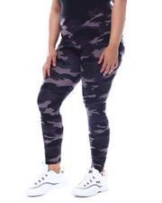 Plus Size - Plus Size Camo Yummy Leggings-2568264
