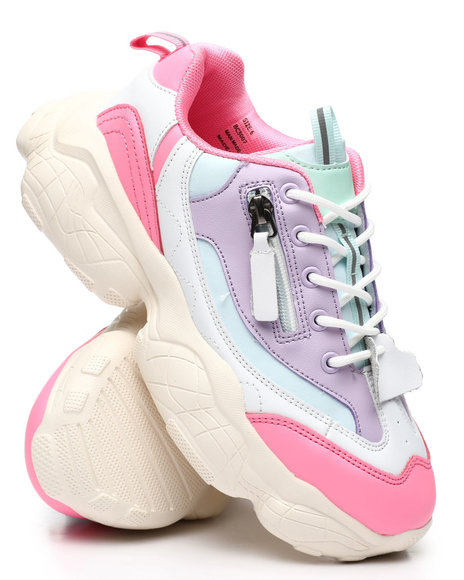 Fashion Lab - Chunky Colorblock Sneakers