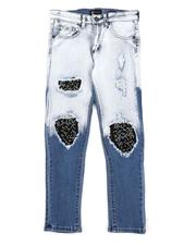 Boys - Washed Destructed Jeans (8-20)-2565266