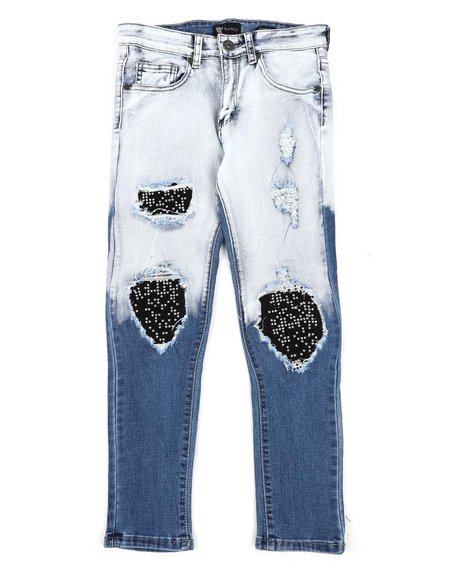 Arcade Styles - Washed Destructed Jeans (8-20)