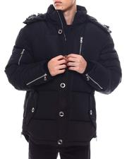Heavy Coats - HEAVY PARKA SNORKEL JACKET W/ CHROME ACCESSORIES-2565789
