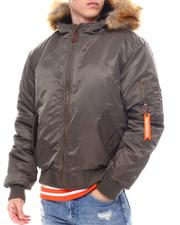 Men - AVIATOR - MA-1 SNORKEL BOMBER JACKET-2565807