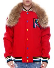 SWITCH - Ultimate King Varsity Jacket w Faux Fur-2566991