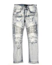 Bottoms - Distressed Moto Jeans (8-20)-2565201