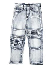 Boys - Distressed Moto Jeans (4-7)-2565245