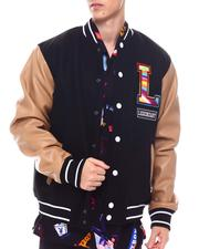 SWITCH - Lion Embroidered Varisty Jacket-2568039