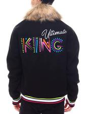 SWITCH - Ultimate King Varsity Jacket w Faux Fur-2567125