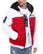 Fall-Winter - Colorblock Jacket w Zip up  Goggle Hood-2567967