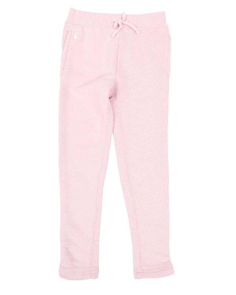 Polo Ralph Lauren - Drapey Terry Fleece Leggings (4-6X)
