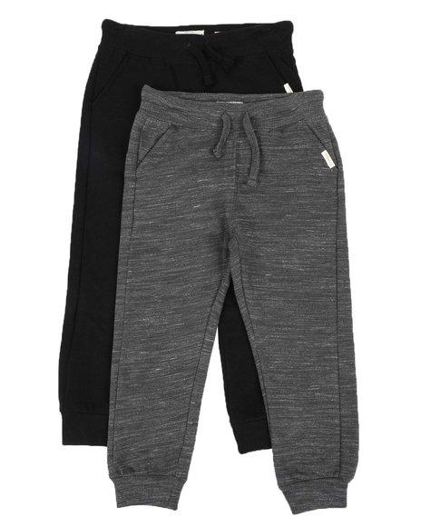Weatherproof - 2 Pack Fleece Jogger Pants (4-7)