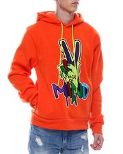 SWITCH - Peace Embroidered Hoodie-2566790