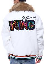 SWITCH - Ultimate King Varsity Jacket w Faux Fur-2567083