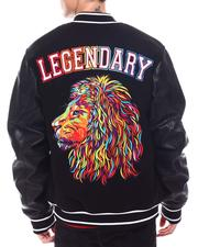 Fall-Winter - Lion Embroidered Varsity Jacket-2567141