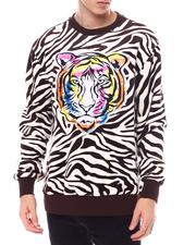 Create 2MRW - VELOUR TIGER CREW-2567735