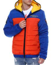 Fall-Winter - Colorblock Jacket w Zip up Goggle Hood-2567961