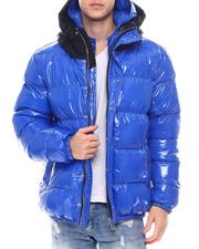 Fall-Winter - Matte Color Block Glazed Nylon Jacket-2568470
