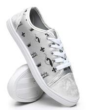 Baby Phat - Alex Logo Repeat Print Sneakers-2565153