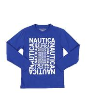Boys - Logo Maze Long Sleeve Graphic Tee (8-20)-2565397