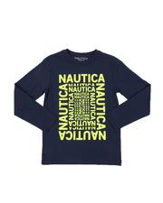 Boys - Logo Maze Long Sleeve Graphic Tee (8-20)-2565402