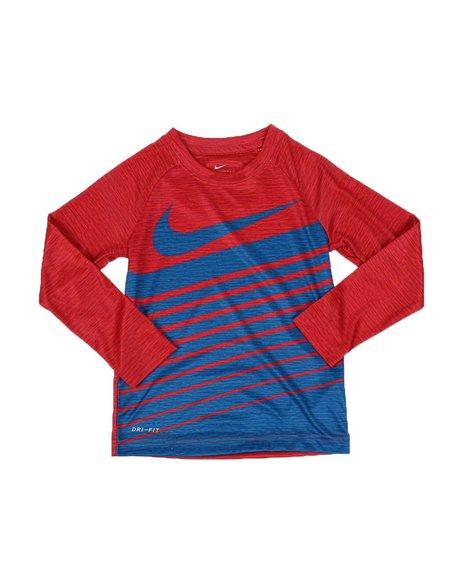 Nike - NKB Nike Stacked Dri-Fit Raglan Long Sleeve Tee (4-7)