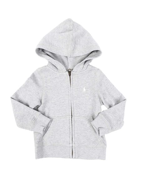 Polo Ralph Lauren - Drapey Terry Full Zip Hoodie (2-4T)