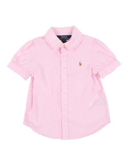Polo Ralph Lauren - Solid Oxford Shirt (2-4T)
