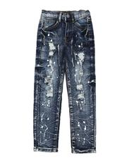 Boys - Paint Splatter Jeans (2-7)-2568704