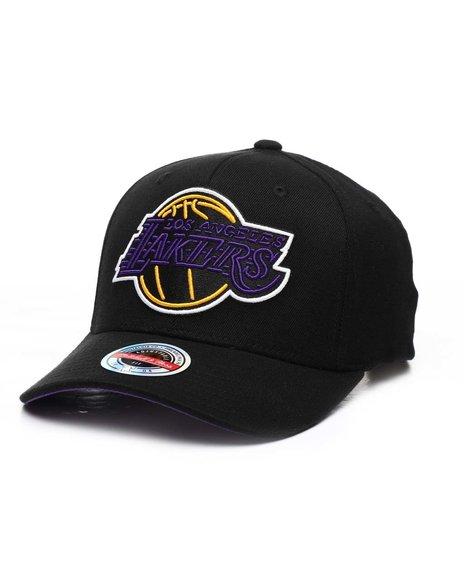 Mitchell & Ness - Los Angeles Lakers Neon Flex Redline Snapback Hat