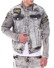 Fall-Winter - RIP & REPAIR/ PAINT SPLATTER DENIM JACKET-2567747