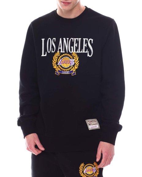 Mitchell & Ness - LOS ANGELES LAKERS The Trustee Crew Fleece