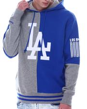 Fall-Winter - LOS ANGELES DODGERS Split Color Hoodie-2568865