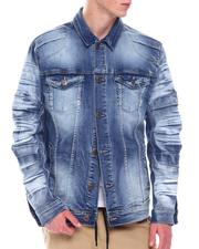 Fall-Winter - Premium Washing Jean Jacket-2569859