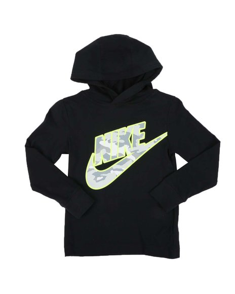 Nike - Erase Camo Jersey Pullover Hooded T-Shirt (4-7)