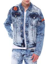 Create 2MRW - RIP & REPAIR/ PAINT SPLATTER DENIM JACKET-2567759