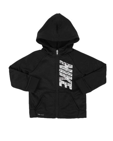 Nike - Nike Therma GFX Dri-Fit Full Zip Hoodie (2T-4T)