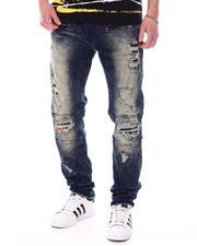 Jeans - Makobi Jeans W/Plaid Contrast-2568630