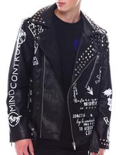 Fall-Winter - Rocker Moto Jacket w Studs-2567769